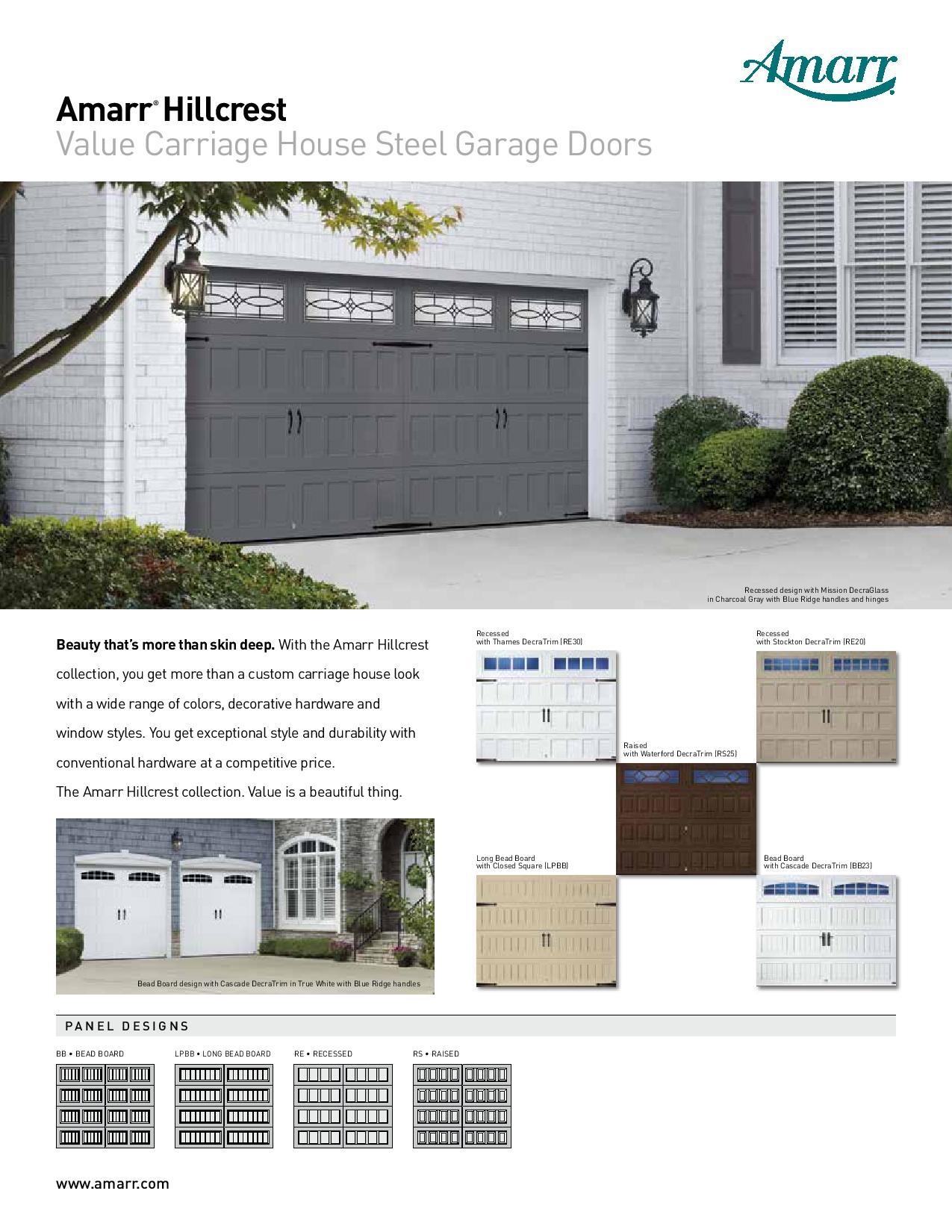 Amarr doors for sale