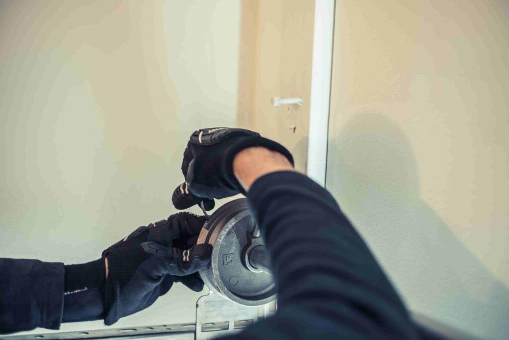 garage door cable installation